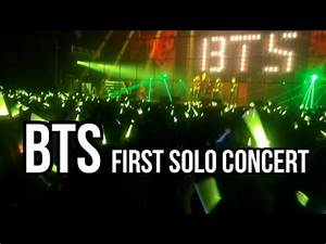 KOREA VLOG | BTS Concert! (their very first solo concert ...