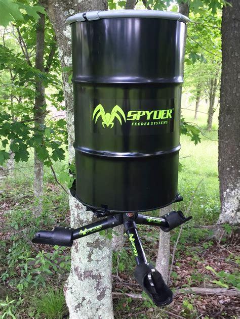 Gravity Deer Feeders by Feeders 100 Made In The Usa Spyder Gravity Feeders