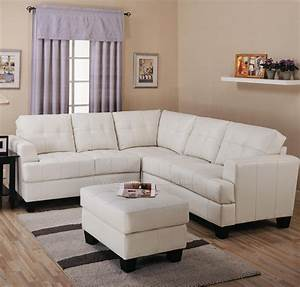 Toronto tufted cream leather corner sectional sofa at for Leather sectional sofa sale toronto