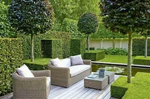 Gartengestaltung Sichtschutz Beispiele : 103 beispiele f r moderne gartengestaltung ~ Lizthompson.info Haus und Dekorationen