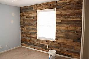 the homestead jones reclaimed wood from pallet for accent With cheap wood accent wall