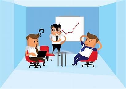 Animated Clip Informal Meetings Reporting Organisation Meeting