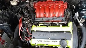 Mitsubishi Galant 95 V6 With Exhaust Hks