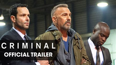 "Criminal (2016 Movie) Official Trailer  ""Remember"" YouTube"