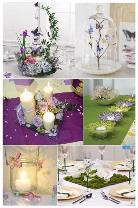 mariage theme papillons idees deco en  decorations