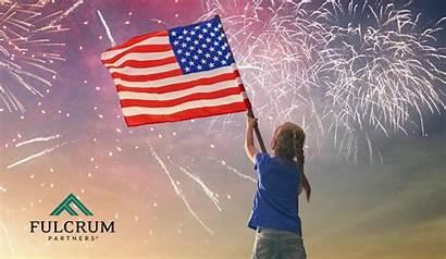Memorial American Heroes Honoring Flag Fireworks Fulcrum