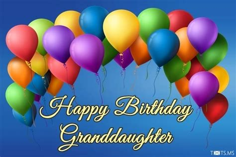 birthday wishes  granddaughter messages quotes images  facebook whatsapp picture sms