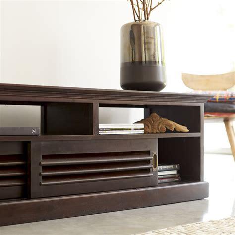 meuble de bureau moderne meuble tv en acajou meubles hi fi modele coline sur tikamoon