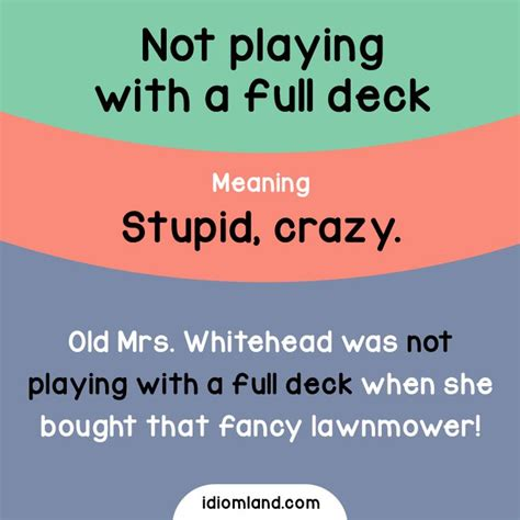 Deck Definition Origin by Pin By Sabrina Redjem On Idioms