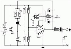 Small Audio Signal Generator Circuit Diagram  62124