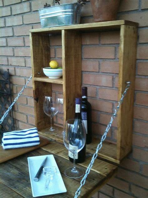 pallet fold  outdoor bar  owner builder network