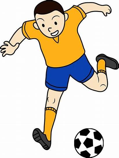 Soccer Clipart Kid Ball Clipartpanda Football Clip