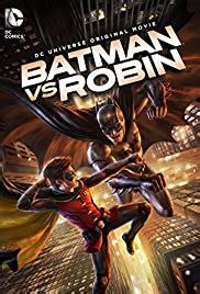 batman  robin video