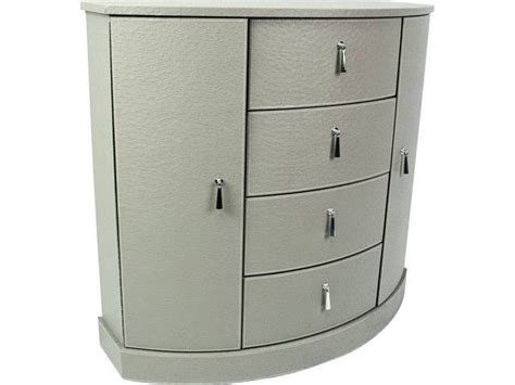 meuble cuisine original petit meuble d 39 appoint aspect cuir en demi lune meuble