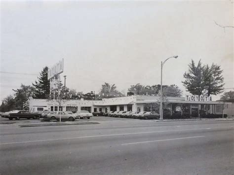 Toyota Dealerships In Michigan by From The Archives Car Dealerships We Miss