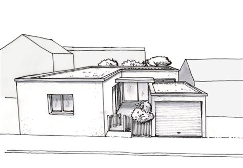 plan maison moderne de plain pied ooreka