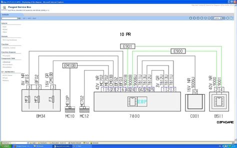 peugeot 307 esp wiring diagram esp ecu communication fault peugeot forums