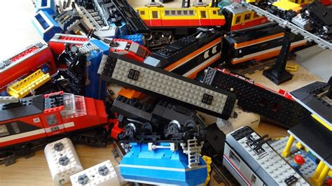 Massive 10 Lego Train Crash With Maersk, Horizon Express