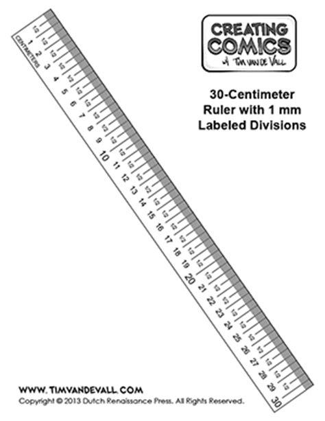 ruler template free centimeter ruler template creating comics