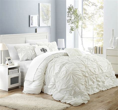 white ruffle comforter 10 beautiful classic bedding to buy home decor ways