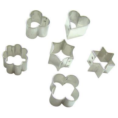 fabriquer des emporte pieces cuisine set de 6 emporte pièces métalliques fimo chez rougier plé