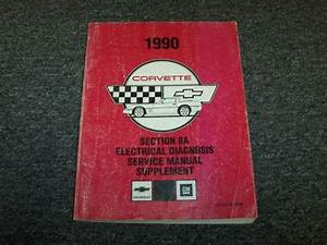 1990 Chevy Corvette Electrical Wiring Diagram Service