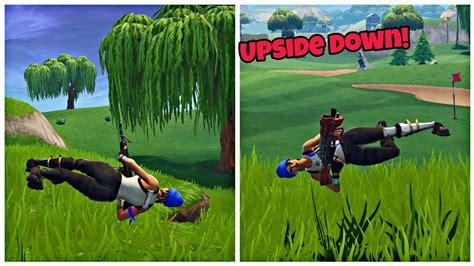 character upside   fortnite glitch