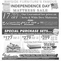 ad page plugs wayside furniture akron cleveland
