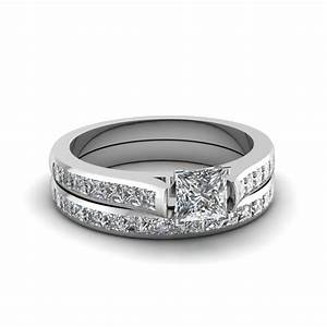 bridal sets buy custom designed wedding ring sets With princess cut diamond wedding rings set