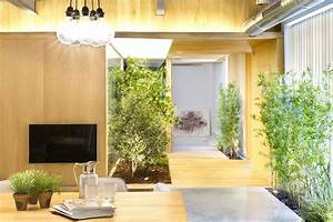 Indoor Garden, Loft Style Home in Terrassa, Spain