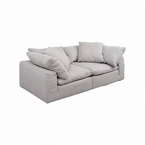 71 off restoration hardware restoration hardware the for Small sectional sofa restoration hardware