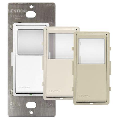 leviton programmable light switch leviton vizia programmable timer wall switch