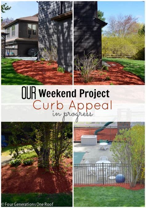 Our Curb Appeal Progress {weekend Update} Four
