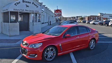 2017 Chevrolet Ss Is An Aging Aussie Turned American Hero