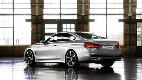 Bmw 4 Series Coupe Hd Picture by Bmw 4 Series Coupe Concept 2013 Rear Hd Wallpaper