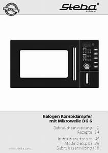Steba Dg6 Microwave Oven Download Manual For Free Now