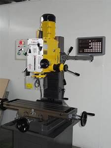 China Vertical Metal Manual Drilling And Milling Machine