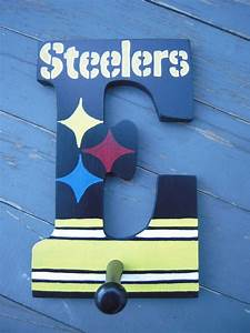 pittsburgh steelers pittsburgh and boy rooms on pinterest With pittsburgh steelers letters