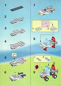 Lego Police Head Quaters Instructions 6398  Police