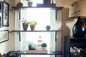 DIY Window Shelves for Plants - DIY Show Off ™ - DIY