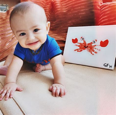 Handprint Crab Craft For Kids And Babies  Crafty Morning