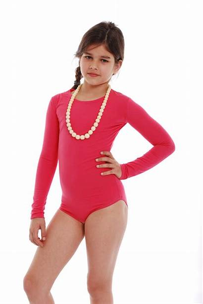 Leotard Tiara Sleeve Bodysuit Child Galiano Neck