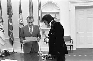 Elvis Meets Nixon 1970 Vintage Everyday