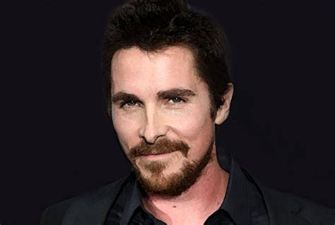 Christian Bale Watercolor Portrait