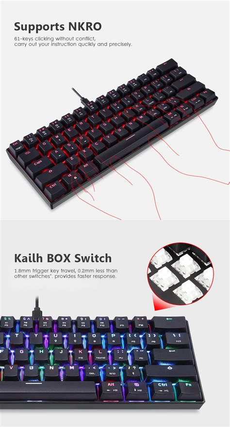 motospeed ck kailh box switch detachable type   key
