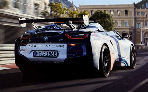Bmw I8 Roadster Hd Picture by 2019 Bmw I8 Roadster Formula E Safety Car Wallpapers And