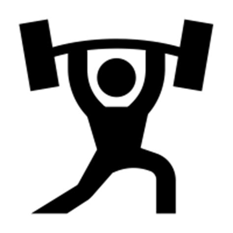 Weight-lifting icons | Noun Project