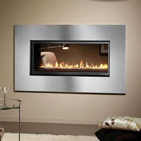 see through fireplace montigo l series see through direct vent fireplace