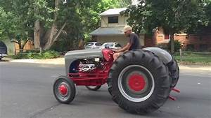 1942 Ford 9n With V8