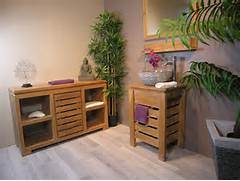 Meuble Salle De Bain 50 Cm. meuble sous vasque simple vasque en bois ...